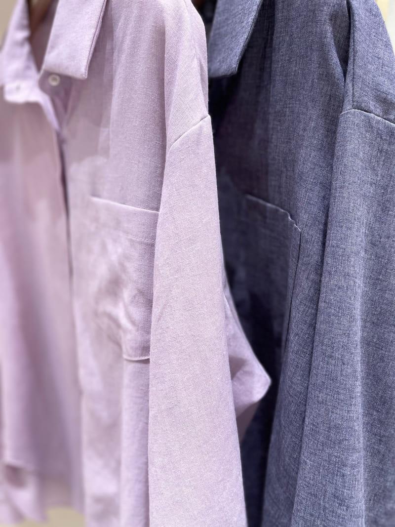 TWENTY FOUR SEVEN - Korean Children Fashion - #Kfashion4kids - London Linen Shirt - 4