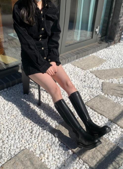 VADE - Korean Children Fashion - #Kfashion4kids - D99 Long Boots