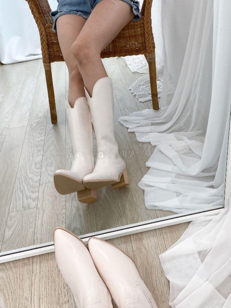 VADE - Korean Children Fashion - #Kfashion4kids - Ja 1200 Western Walker Boots - 3