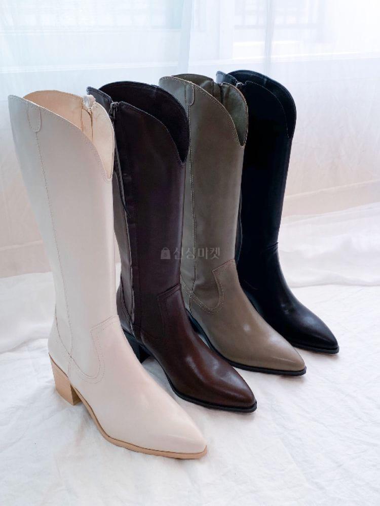 VADE - BRAND - Korean Children Fashion - #Kfashion4kids - Ja 1200 Western Walker Boots