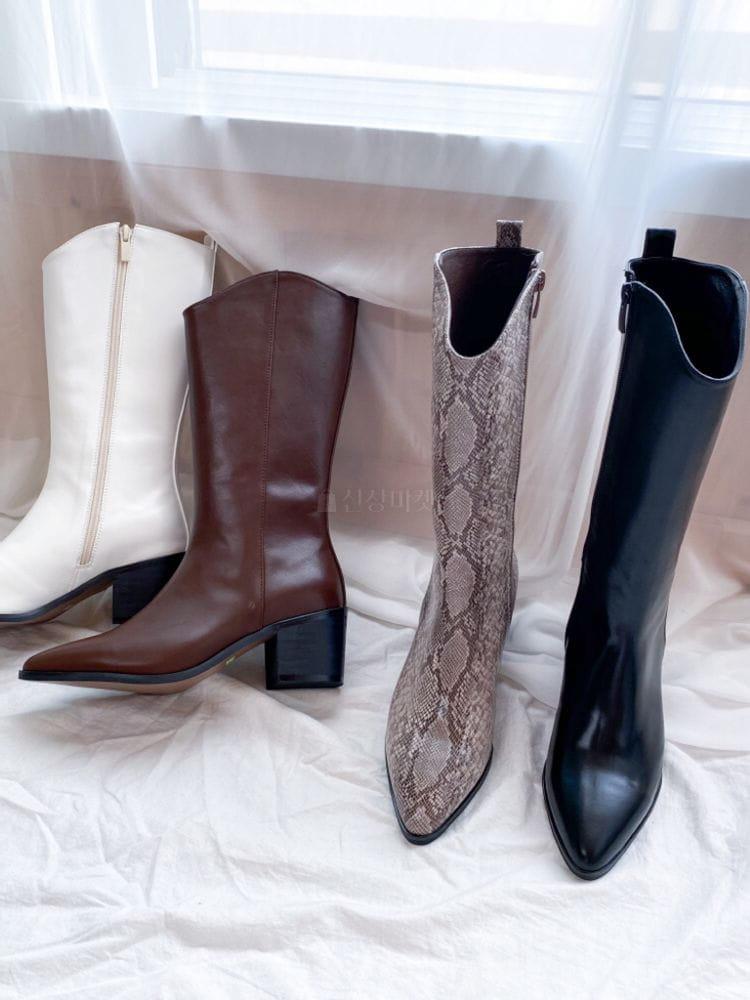 VADE - Korean Children Fashion - #Kfashion4kids - Ja 1323 Western Basic Boots