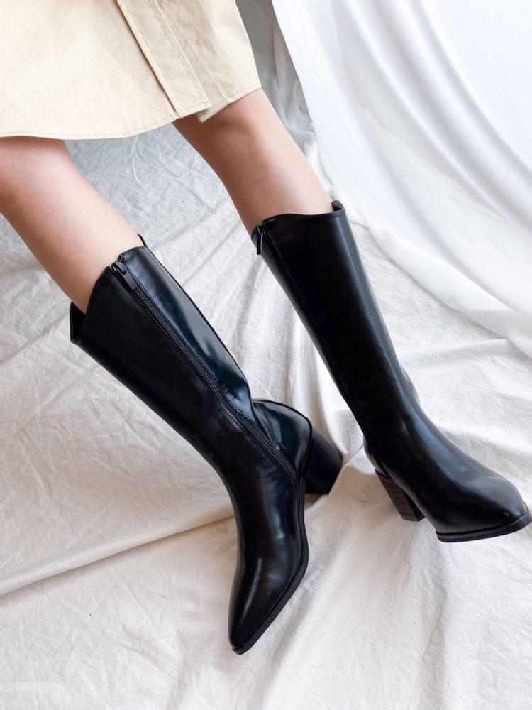 VADE - BRAND - Korean Children Fashion - #Kfashion4kids - Ja 1323 Western Basic Boots