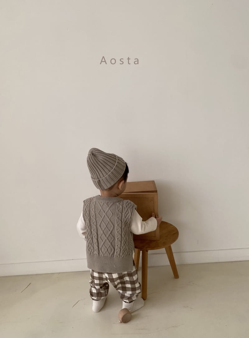 AOSTA - Korean Children Fashion - #Kfashion4kids - Knit Beanie - 11