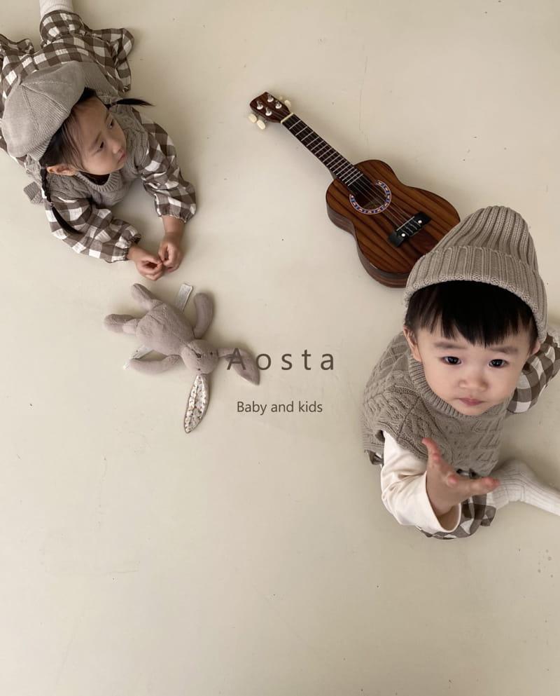 AOSTA - Korean Children Fashion - #Kfashion4kids - Knit Beanie - 12