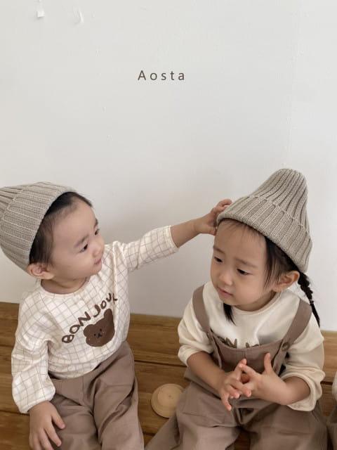 AOSTA - BRAND - Korean Children Fashion - #Kfashion4kids - Knit Beanie