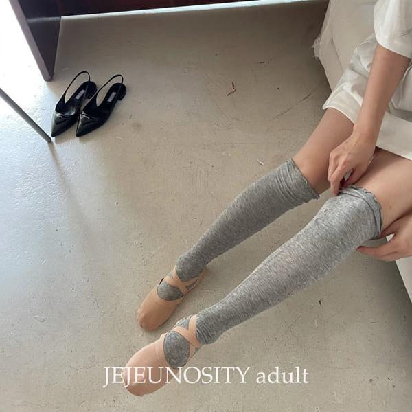 JEJEUNOSITY - Korean Children Fashion - #Kfashion4kids - Over Knee Socks - 11