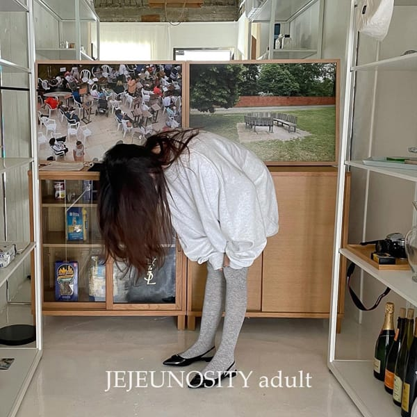 JEJEUNOSITY - Korean Children Fashion - #Kfashion4kids - Over Knee Socks - 12