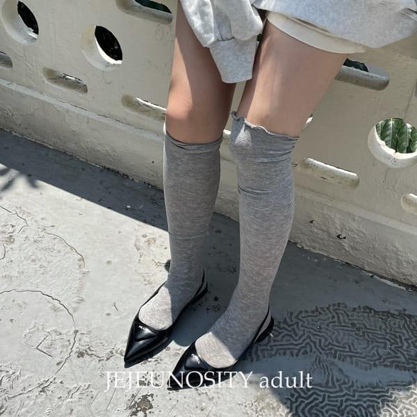 JEJEUNOSITY - Korean Children Fashion - #Kfashion4kids - Over Knee Socks - 4
