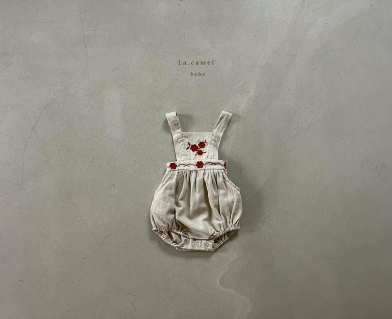 LA CAMEL - Korean Children Fashion - #Kfashion4kids - Ivy Bodysuit - 3