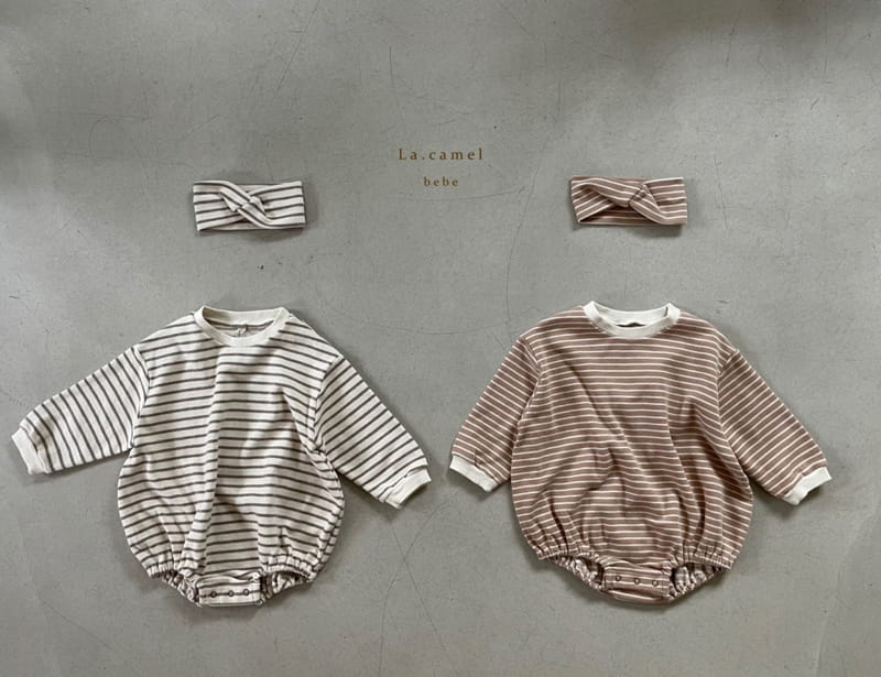 LA CAMEL - Korean Children Fashion - #Kfashion4kids - Muffin Romper - 10