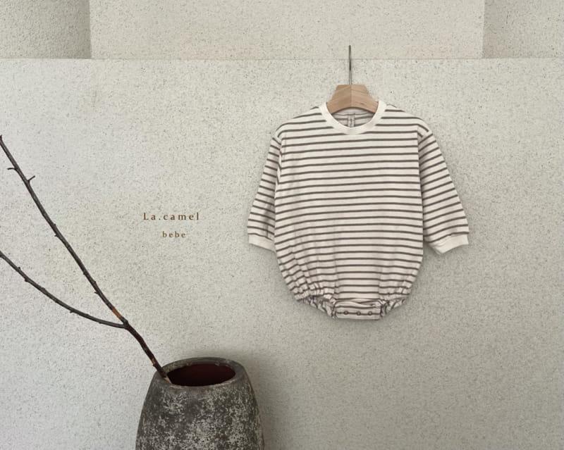 LA CAMEL - Korean Children Fashion - #Kfashion4kids - Muffin Romper - 12