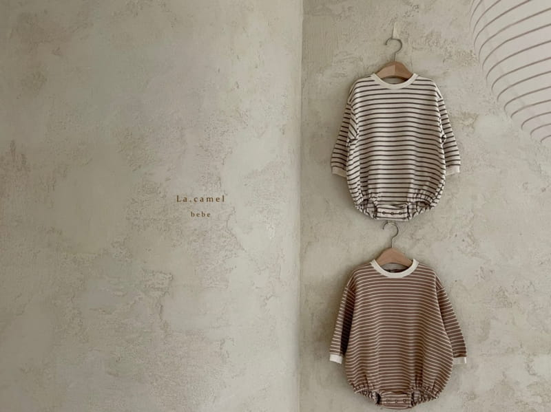 LA CAMEL - Korean Children Fashion - #Kfashion4kids - Muffin Romper - 6