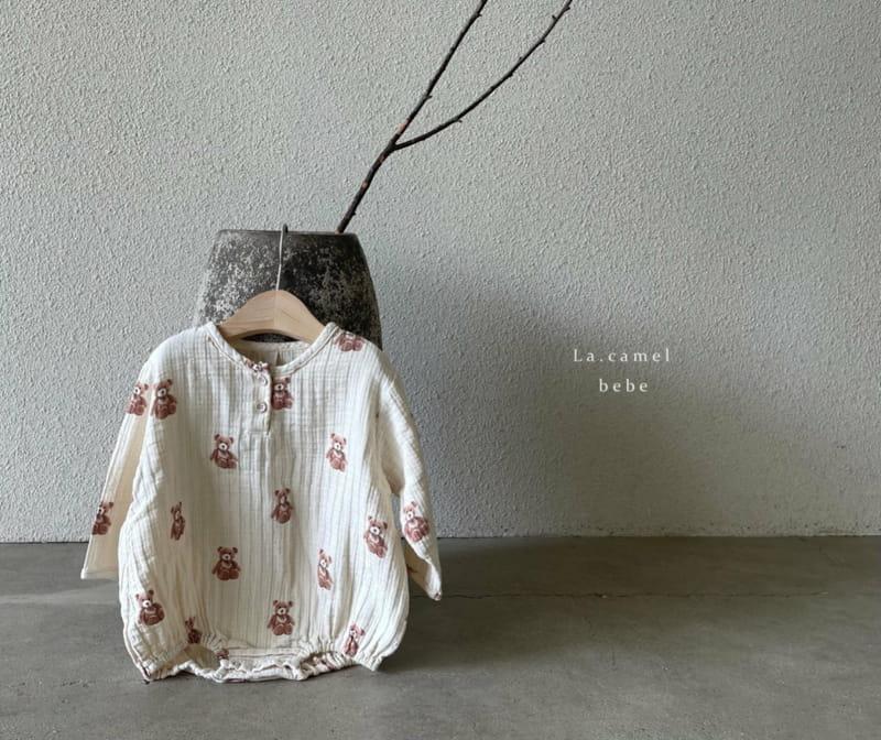 LA CAMEL - Korean Children Fashion - #Kfashion4kids - Cozy Romper - 10