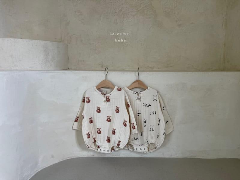 LA CAMEL - Korean Children Fashion - #Kfashion4kids - Cozy Romper - 12
