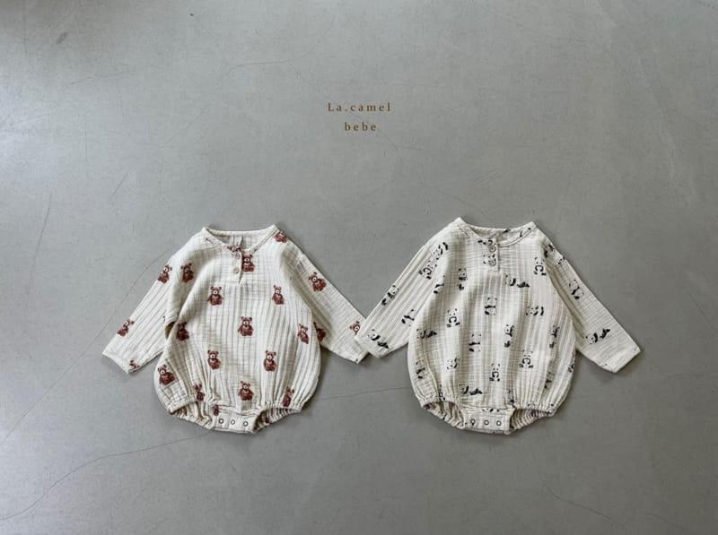 LA CAMEL - Korean Children Fashion - #Kfashion4kids - Cozy Romper - 3