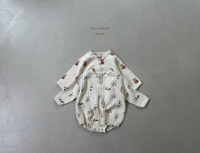 LA CAMEL - Korean Children Fashion - #Kfashion4kids - Cozy Romper - 5