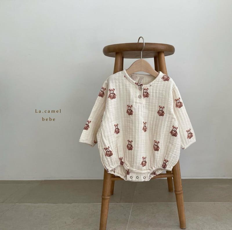 LA CAMEL - Korean Children Fashion - #Kfashion4kids - Cozy Romper - 7