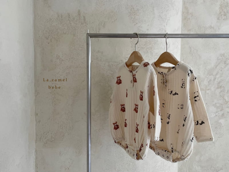 LA CAMEL - Korean Children Fashion - #Kfashion4kids - Cozy Romper - 8