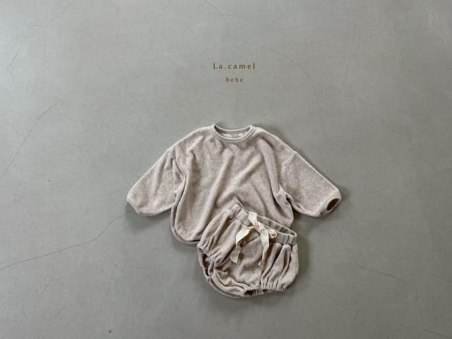 LA CAMEL - Korean Children Fashion - #Kfashion4kids - Terry Towel Romper