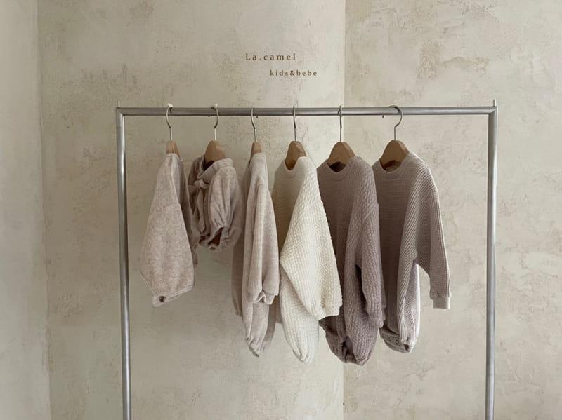 LA CAMEL - Korean Children Fashion - #Kfashion4kids - Terry Towel Romper - 12