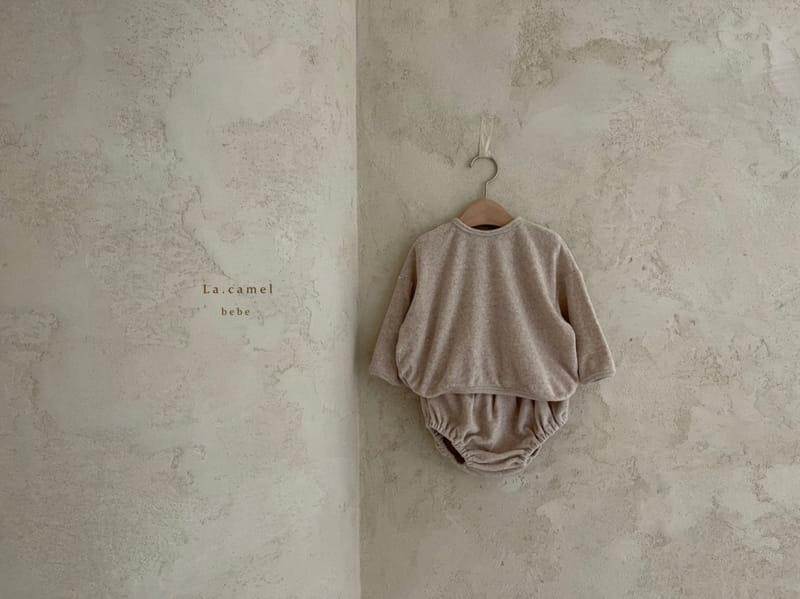 LA CAMEL - Korean Children Fashion - #Kfashion4kids - Terry Towel Romper - 4