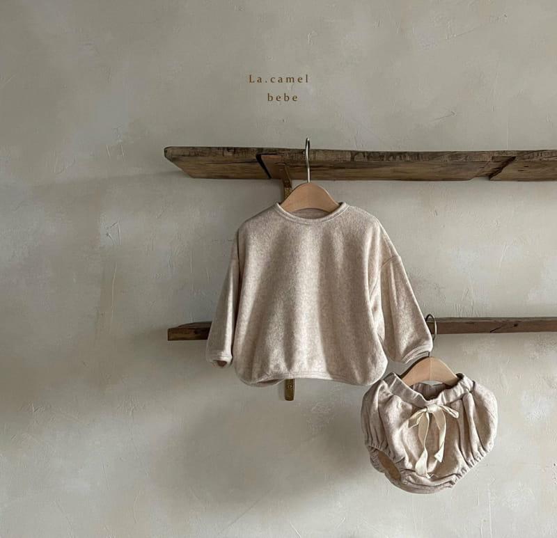 LA CAMEL - Korean Children Fashion - #Kfashion4kids - Terry Towel Romper - 6