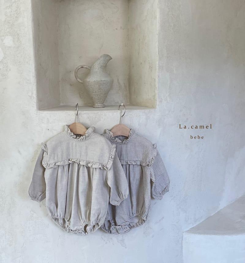 LA CAMEL - Korean Children Fashion - #Kfashion4kids - Pompom Bodysuit - 10