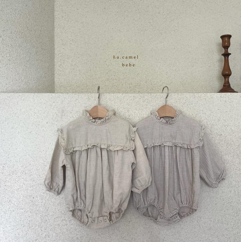 LA CAMEL - Korean Children Fashion - #Kfashion4kids - Pompom Bodysuit - 12