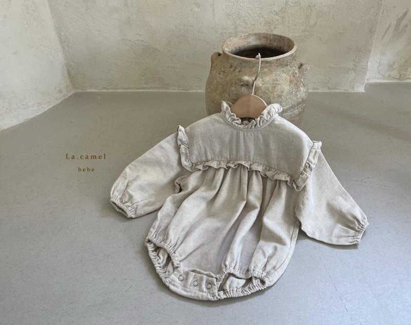 LA CAMEL - Korean Children Fashion - #Kfashion4kids - Pompom Bodysuit - 4
