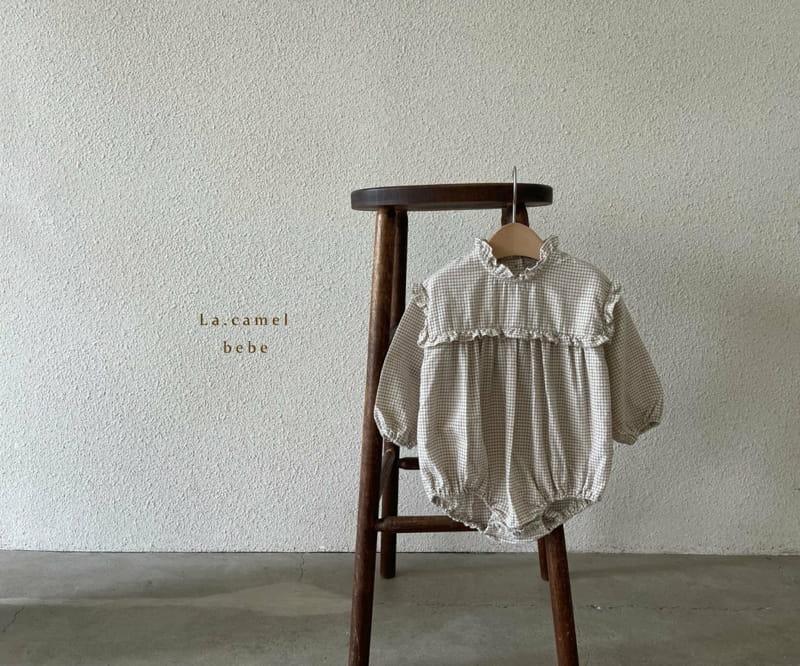 LA CAMEL - Korean Children Fashion - #Kfashion4kids - Pompom Bodysuit - 5
