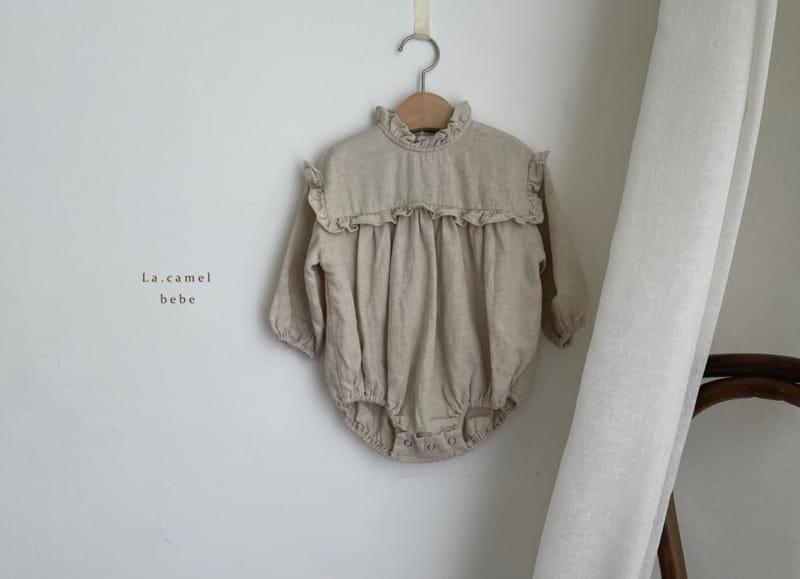 LA CAMEL - Korean Children Fashion - #Kfashion4kids - Pompom Bodysuit - 7