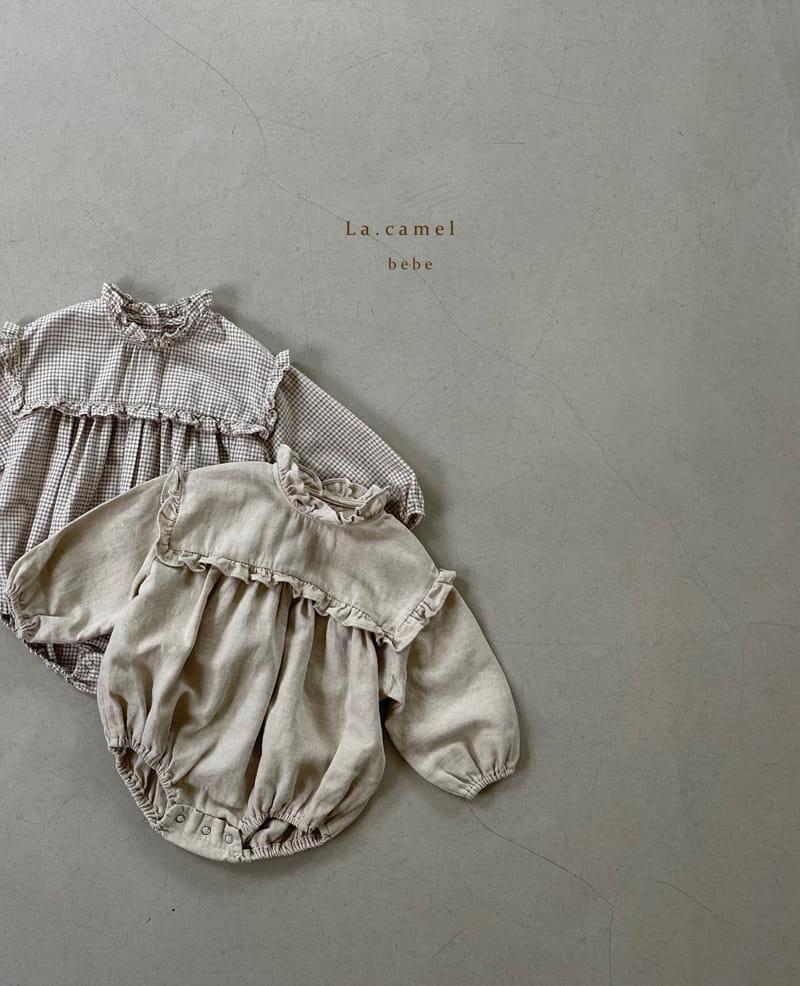 LA CAMEL - Korean Children Fashion - #Kfashion4kids - Pompom Bodysuit - 8
