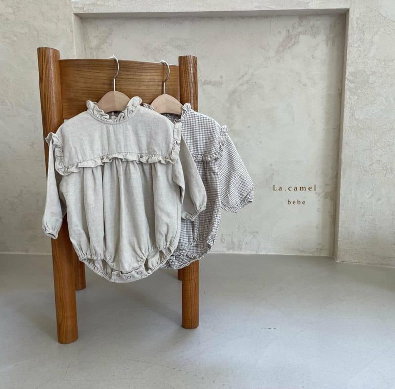 LA CAMEL - Korean Children Fashion - #Kfashion4kids - Pompom Bodysuit - 9