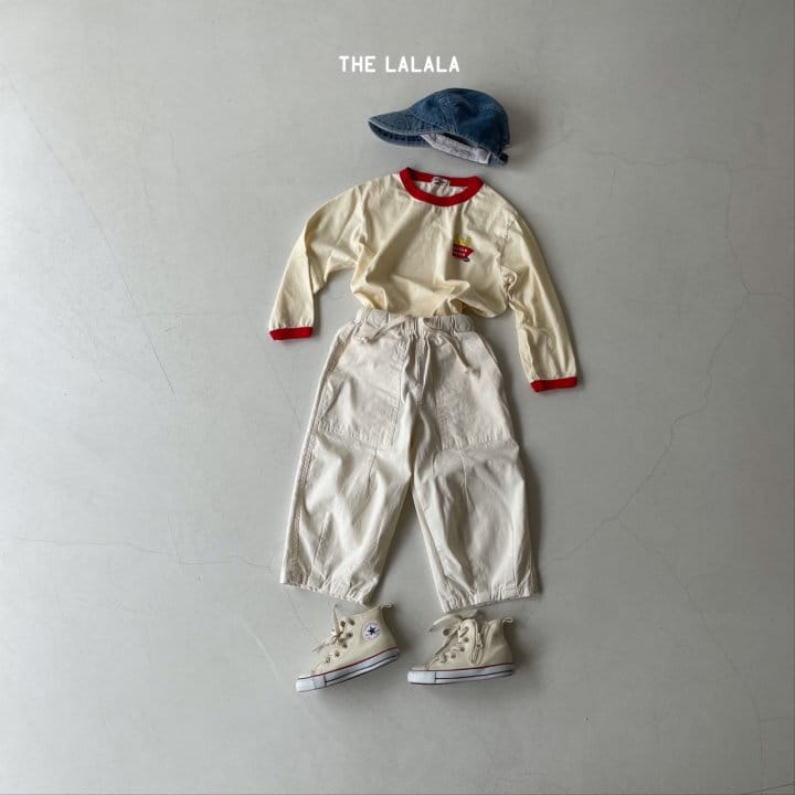 THE LALALA - Korean Children Fashion - #Kfashion4kids - Burger Ringer Tee - 11