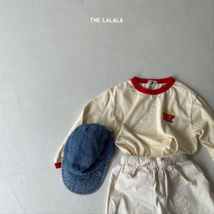 THE LALALA - Korean Children Fashion - #Kfashion4kids - Burger Ringer Tee - 12