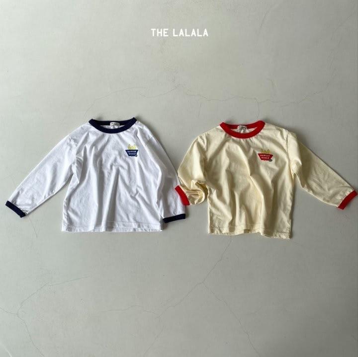 THE LALALA - Korean Children Fashion - #Kfashion4kids - Burger Ringer Tee - 3