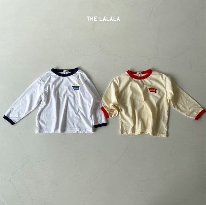 THE LALALA - Korean Children Fashion - #Kfashion4kids - Burger Ringer Tee - 4