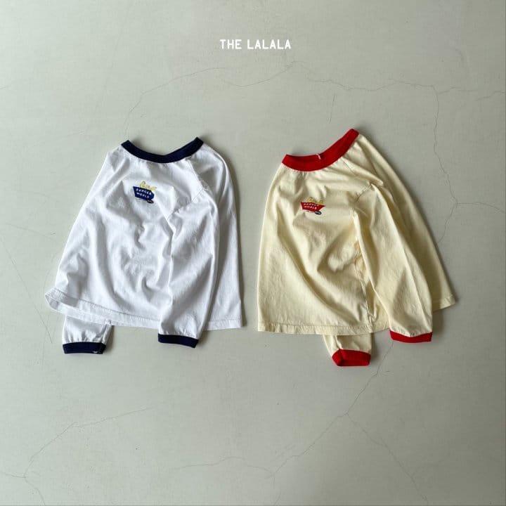 THE LALALA - Korean Children Fashion - #Kfashion4kids - Burger Ringer Tee - 5