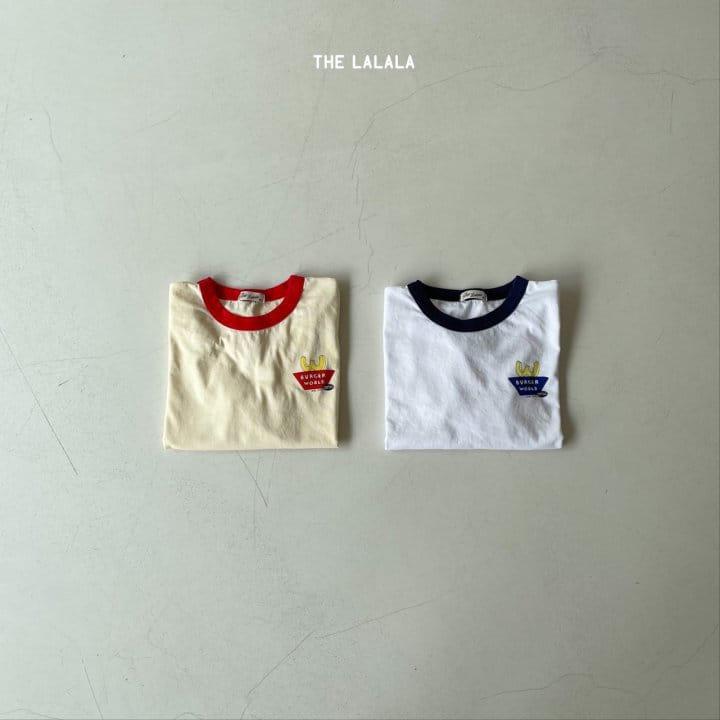 THE LALALA - Korean Children Fashion - #Kfashion4kids - Burger Ringer Tee - 6