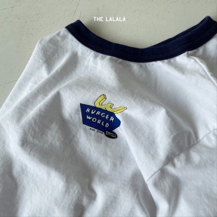THE LALALA - Korean Children Fashion - #Kfashion4kids - Burger Ringer Tee - 8