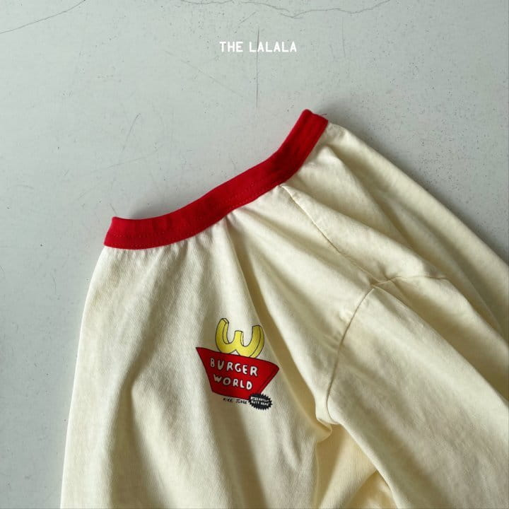 THE LALALA - Korean Children Fashion - #Kfashion4kids - Burger Ringer Tee - 9