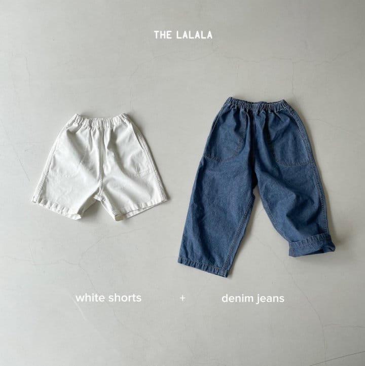 THE LALALA - Korean Children Fashion - #Kfashion4kids - Short & Long Pants Set - 11