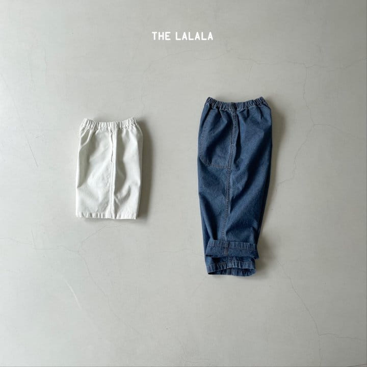THE LALALA - Korean Children Fashion - #Kfashion4kids - Short & Long Pants Set - 12