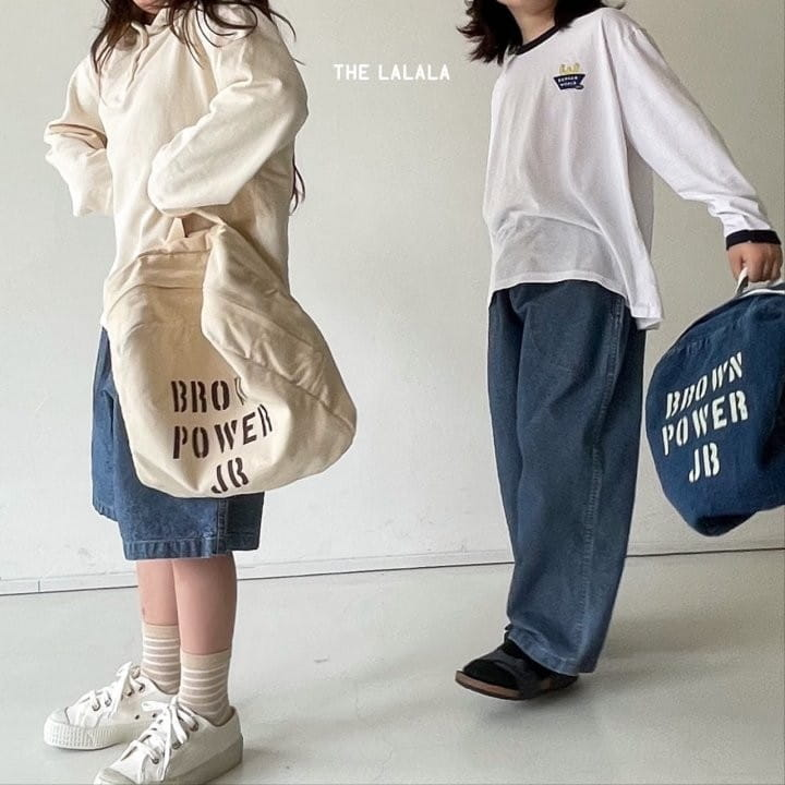 THE LALALA - Korean Children Fashion - #Kfashion4kids - Short & Long Pants Set - 2