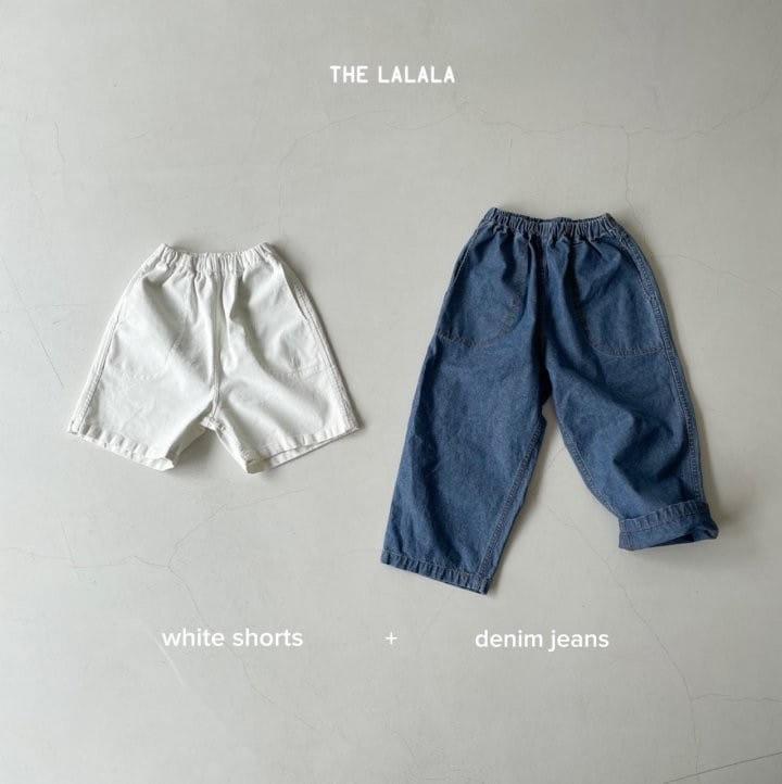 THE LALALA - Korean Children Fashion - #Kfashion4kids - Short & Long Pants Set - 4