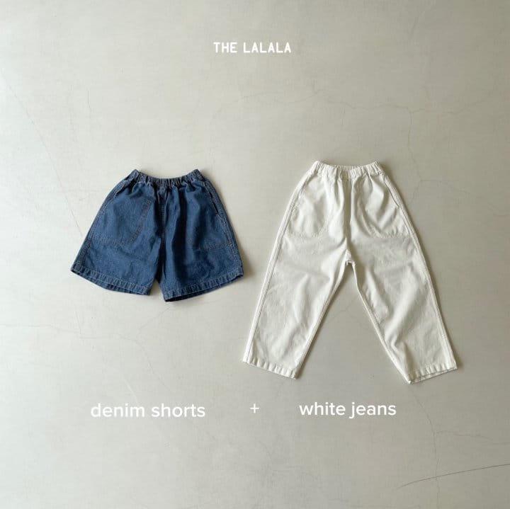 THE LALALA - Korean Children Fashion - #Kfashion4kids - Short & Long Pants Set - 5