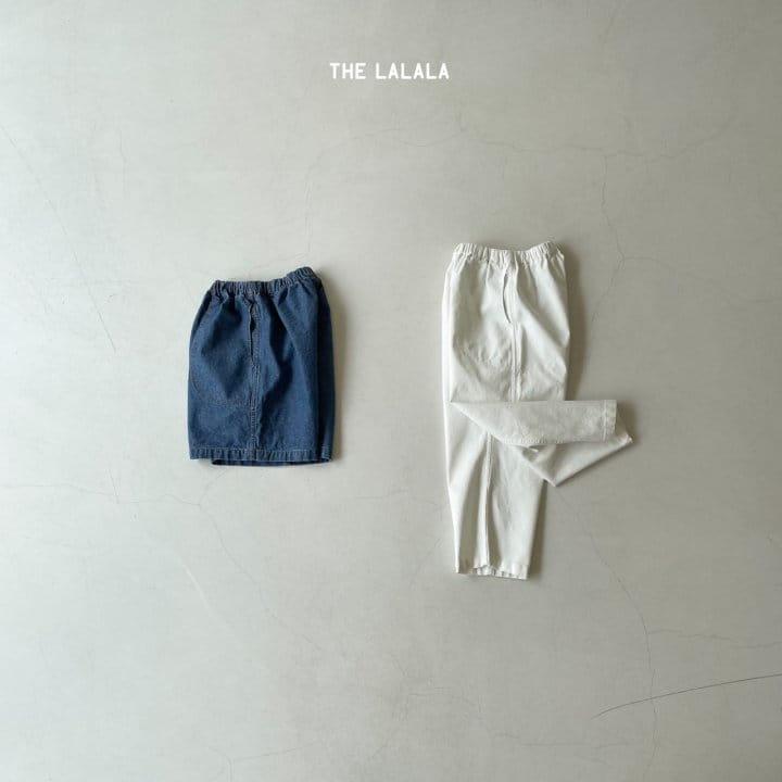THE LALALA - Korean Children Fashion - #Kfashion4kids - Short & Long Pants Set - 6