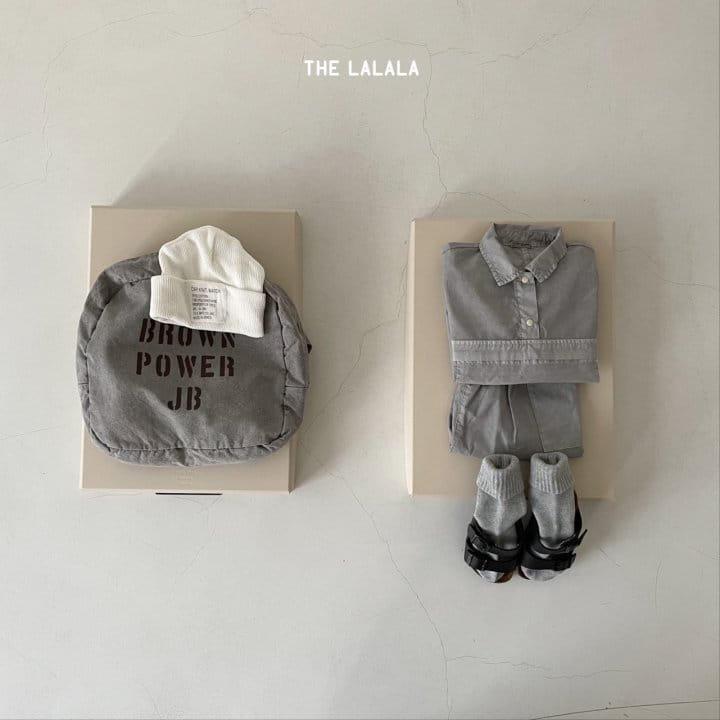 THE LALALA - Korean Children Fashion - #Kfashion4kids - Anorak Shorts Set - 11