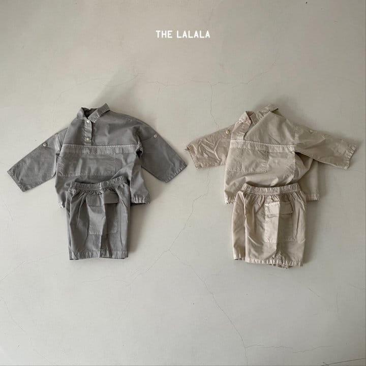 THE LALALA - Korean Children Fashion - #Kfashion4kids - Anorak Shorts Set - 6