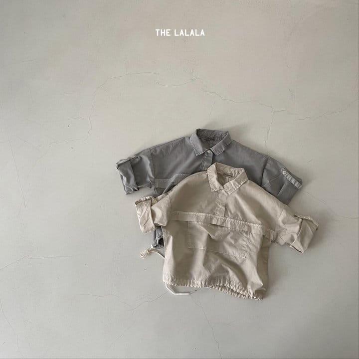 THE LALALA - Korean Children Fashion - #Kfashion4kids - Anorak Shorts Set - 7